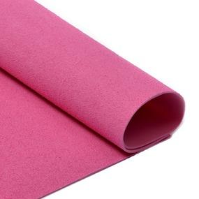 Фоамиран махровый 2 мм 20/30 см уп 10 шт MG.TOW.N003 цвет розовый фото