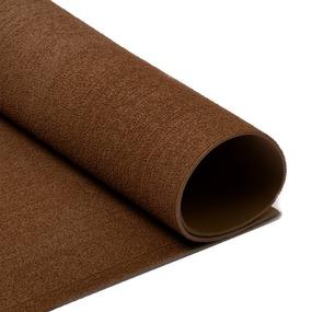 Фоамиран махровый 2 мм 20/30 см уп 10 шт MG.TOW.N019 цвет коричневый фото