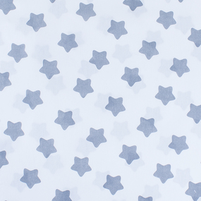 Маломеры бязь плательная 150 см 1737-А/17 цвет серый 1 м фото