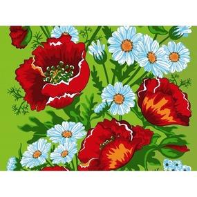 Вафельное полотно 45 см 144 гр/м2 1650/1 цвет зеленый фото
