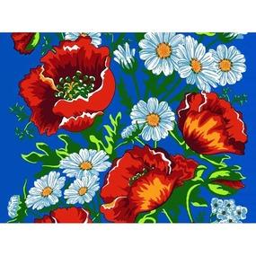 Вафельное полотно 45 см 144 гр/м2 1650/4 цвет синий фото