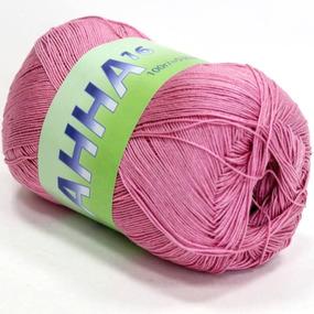 Анна 317 100% хлопок 100гр 530м 1000 (Италия) цвет розовый фото