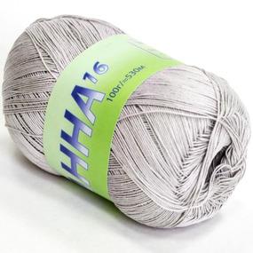 Анна 373 100% хлопок 100гр 530м 1000 (Италия) цвет светло-серый фото