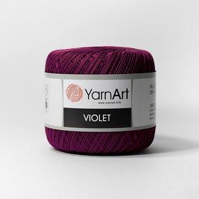 Виолет 112 100% мерсеризованный хлопок 50гр 282м фото