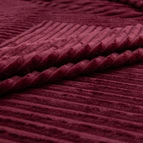 Ткань на отрез велсофт Orrizonte 300 гр/м2 200 см 008-ОT цвет красный фото