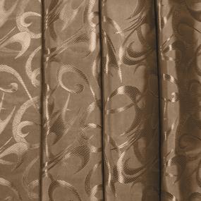 Портьерная ткань 150 см на отрез 26 цвет шоколадный фото