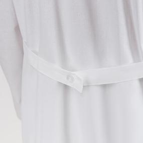 Халат мужской классический рукав длинный бязь отбеленная ГОСТ 60-62 рост 182-188 фото