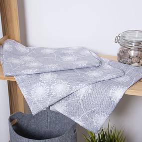 Набор полотенец рогожка 3 шт 45/60 см 3087-1 Рафаэлка фото