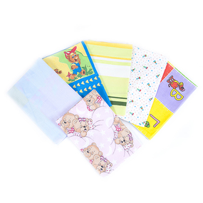 Простыня на резинке бязь детская расцветки в ассортименте 60/120/12 см фото