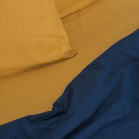 Постельное белье из поплина Индиго 1.5 сп. фото