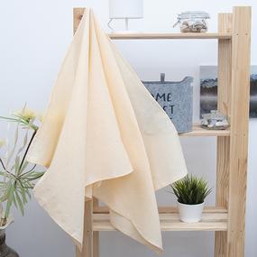 Полотенце вафельное банное 150/75 см цвет персиковый фото