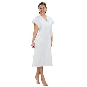 Сорочка женская ночная для рожениц бязь отбеленная 100 гр/м2 52-54 рост 172-176 фото