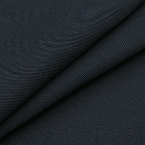 Ткань на отрез саржа 17с203 цвет чёрный 316 фото