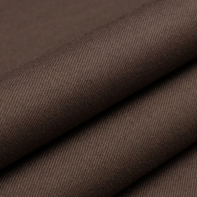 Ткань на отрез сатин гладкокрашеный 016BGS шоколадный air jet фото