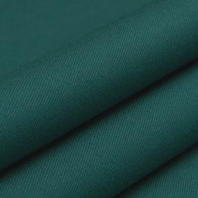 Ткань на отрез сатин гладкокрашеный 128BGS зеленый air jet фото