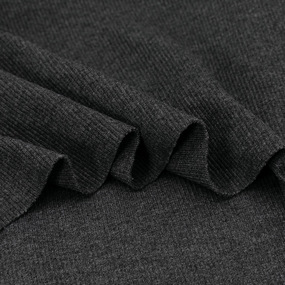 Ткань на отрез кашкорсе 3-х нитка с лайкрой цвет антрацит фото
