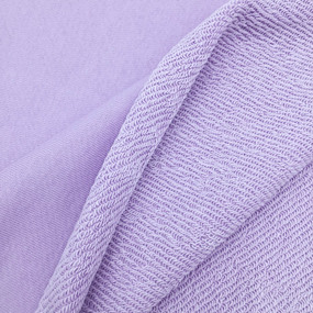 Ткань на отрез футер 3-х нитка диагональный 6855-1 цвет светло-лиловый фото