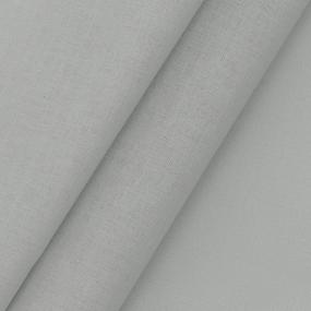 Поплин гладкокрашеный 220 см 115 гр/м2 25052 цвет серый фото
