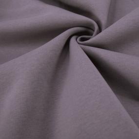 Ткань на отрез футер 3-х нитка компакт пенье начес цвет корица фото