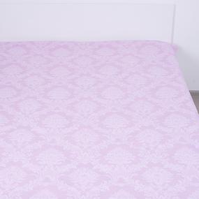 Простыня поплин 10333/3 Агат (розовый) 1.5 сп фото