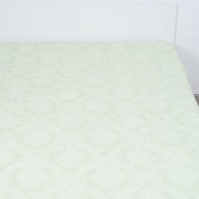 Простыня поплин 10333/4 Изумруд (салатовый) 2-х сп фото
