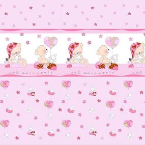 Маломеры поплин 150 см 1636 цвет розовый 11 м фото