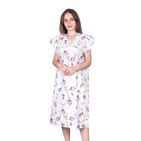 Сорочка женская бязь вид 2 117/1 размер 48-50 фото