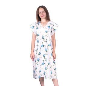 Сорочка женская бязь вид 2 117/2 размер 56-58 фото