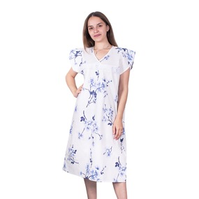 Сорочка женская бязь вид 2 157/1 размер 48-50 фото