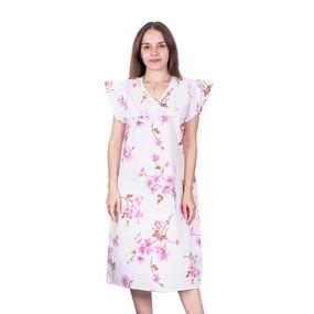 Сорочка женская бязь вид 2 157/2 размер 60-62 фото