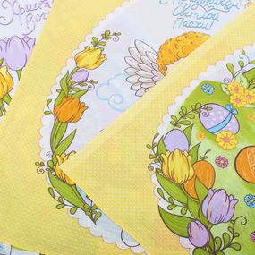 Набор вафельных полотенец 3 шт 45/60 см 35011 вид 1 Волшебная пасха фото