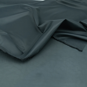 Ткань на отрез таффета 150 см 190Т цвет темно-серый фото