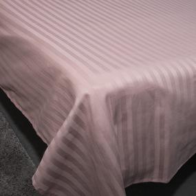 Простыня страйп-сатин полоса 1х1 120 гр/м2 730/2 цвет роза Евро фото