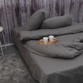 Пододеяльник из страйп-сатина полоса 1х1 120 гр/м2 960/2, 1,5 спальный фото