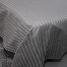 Простыня страйп-сатин полоса 1х1 120 гр/м2 960/2 Евро фото