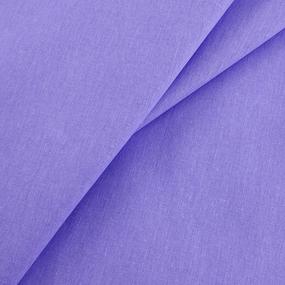 Бязь гладкокрашеная 120гр/м2 220 см на отрез цвет василек фото