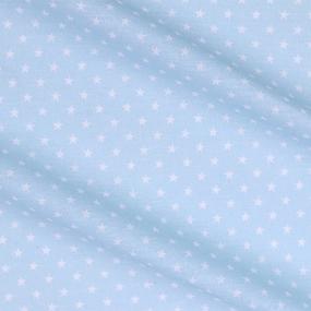 Бязь плательная 150 см 7223/6 Мелкие звездочки 0.5 см о/м цвет ментол фото