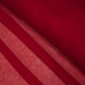 Ткань на отрез ситец гладкокрашеный 80 см 65 гр/м2 цвет бордовый фото