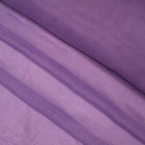 Ткань на отрез ситец гладкокрашеный 80 см 65 гр/м2 цвет сиреневый фото