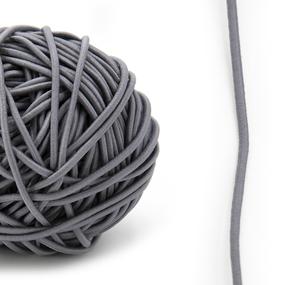 Резинка шляпная 0,25см серая 1 метр фото