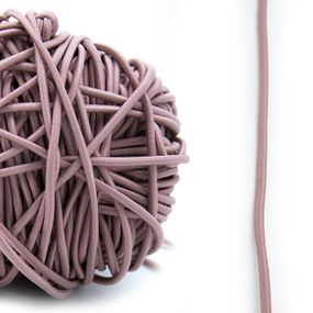 Резинка шляпная 0,25см нуд 1 метр фото