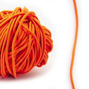 Резинка шляпная 0,25см оранжевый 1 метр фото