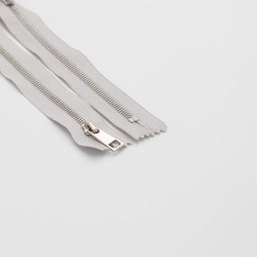 Молния металл №5СТ никель н/р 18см D316 серый фото