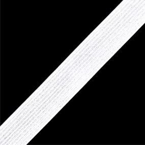 Резинка вязаная 50мм 50ярд белая МС170 фото