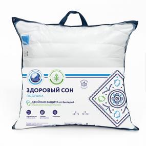 Подушка Здоровый сон ИВШВЕЙСТАНДАРТ 70/70 фото