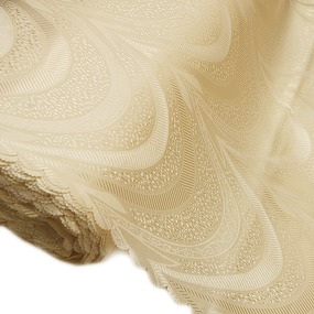 Мерный лоскут ткань портьерная 72 цвет шампань 150 см фото