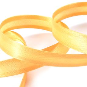 Косая бейка ширина 15 мм (132 м) цвет F111 желтый фото