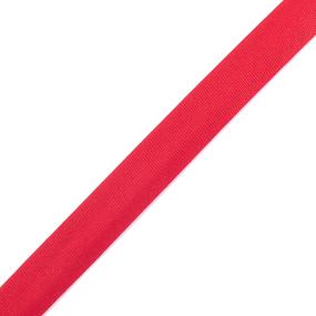 Косая бейка ширина 15 мм (132 м) цвет F162 красный фото