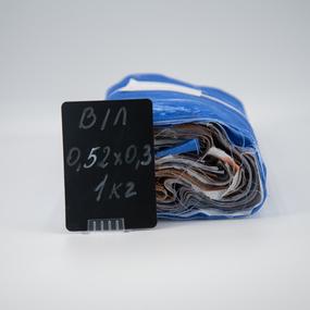 Весовой лоскут Бязь/Поплин о/м 0,52 / 0,30 (+/-5) м в ассортименте по 1 кг фото