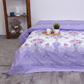 Пододеяльник из бязи 10251/1 Ришелье, 1,5 спальный фото
